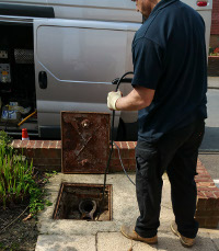 Cleared blocked drains in Putney