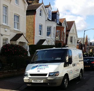 Unblocked drains at Dryburgh Road, Putney SW15